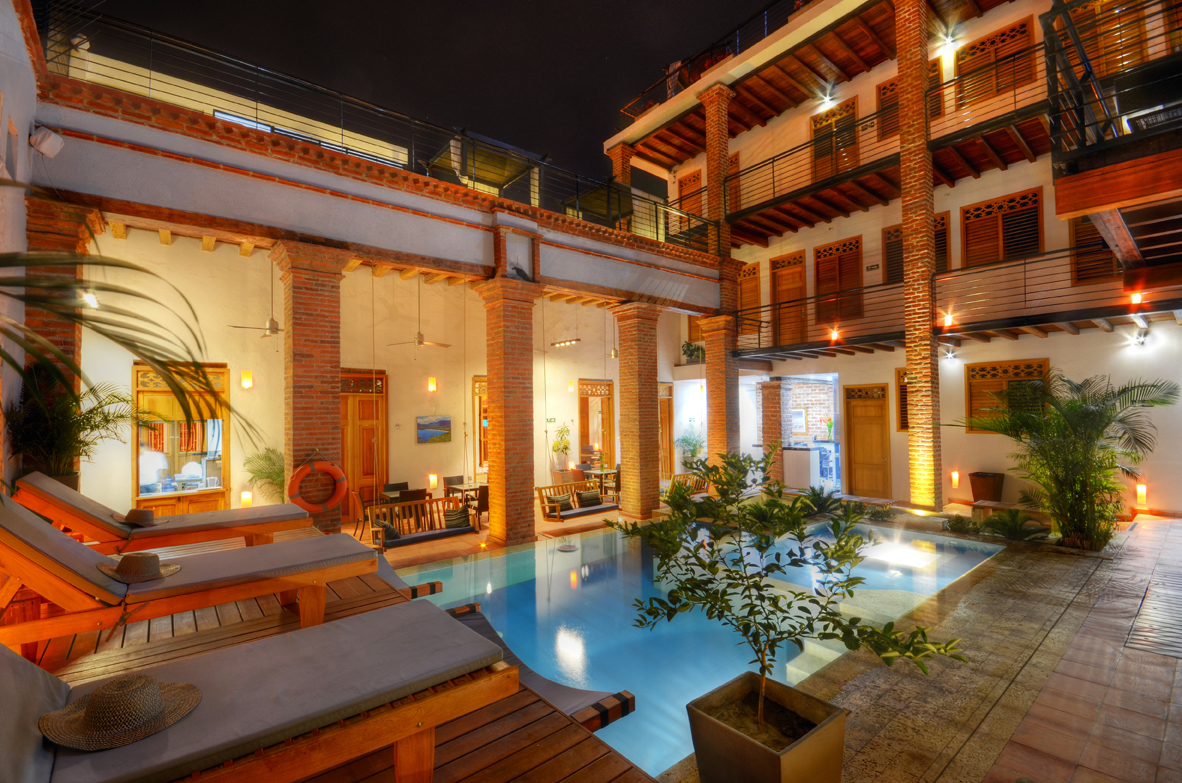 Hotel in santa marta casa carolina for Boutiques hotels