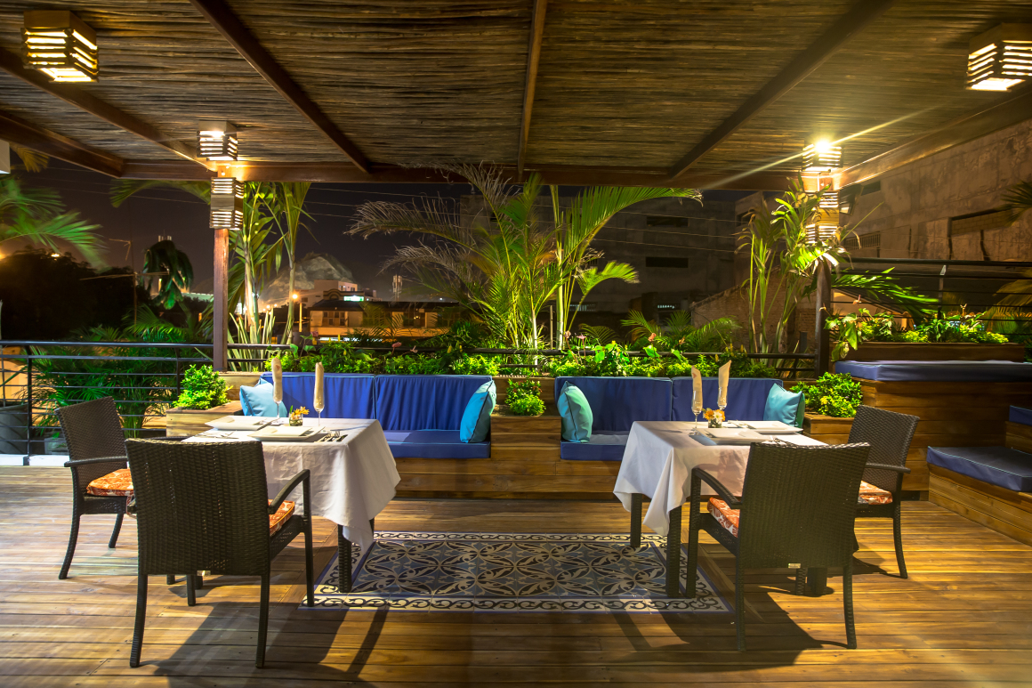 Things to do in santa marta hotel casa carolina for Terrace bar menu