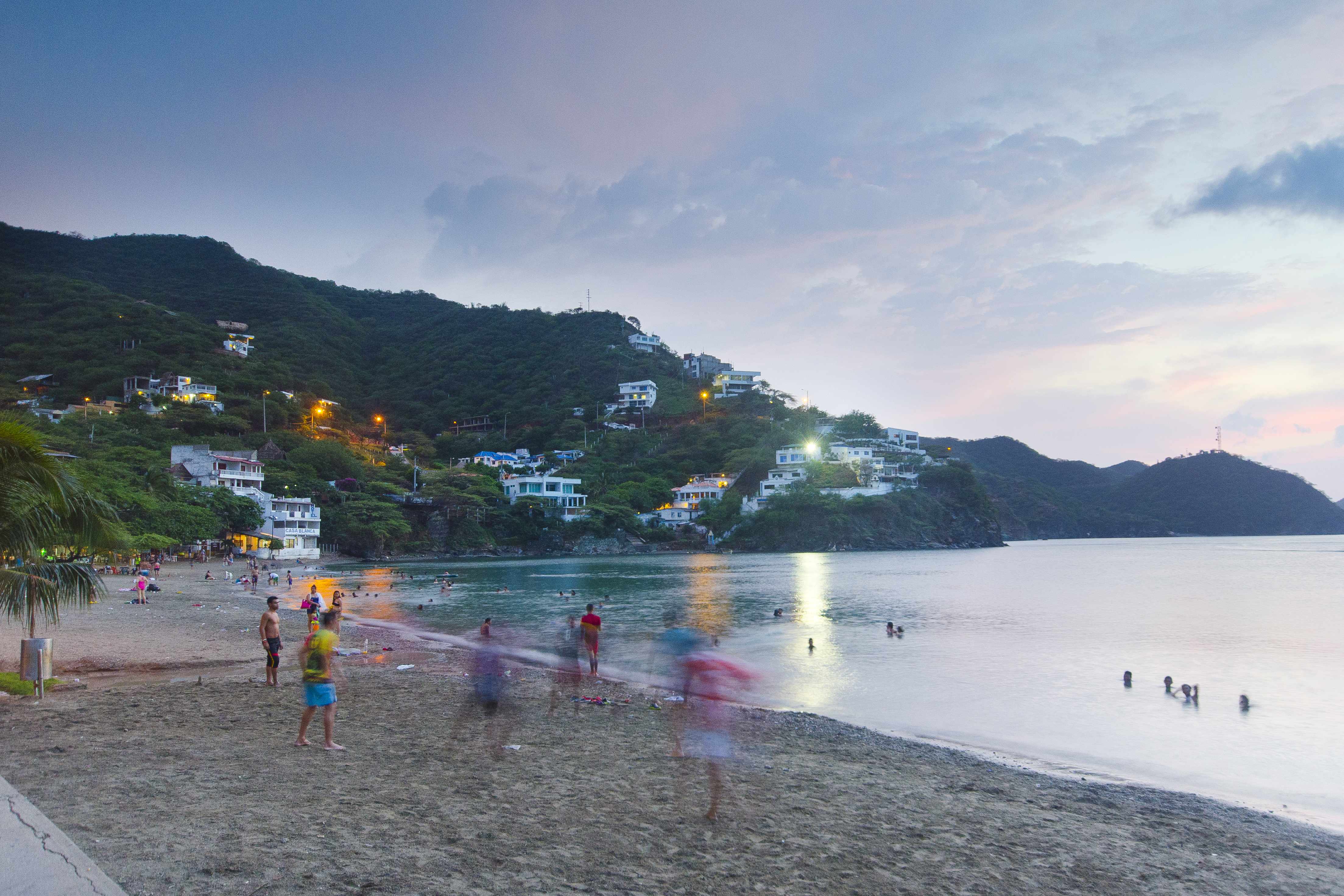 Tyrona beach in Santa Marta